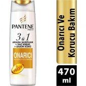Pantene Saç Dökülmelerine Karşı 3&#39ü 1 Arada 470 Ml Şampuan