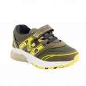 Wiscol Işıklı Hakı Sarı Çocuk Spor Ayakkabısı