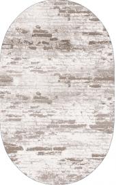 Homex Dijital Saçaklı Oval Halı 1115 50x80 Cm