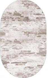 Homex Dijital Saçaklı Oval Halı 1115 60x100 Cm