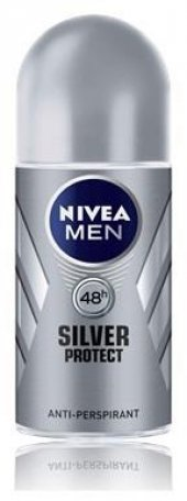 Nivea Deo Roll On Erkek Deodorant Silver Protect 50ml