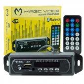 Magicvoice Usb 400 Bluetooth Aux Usb Sd Mmc Kumand...