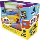 Nova Color Maxi Oyun Hamuru Ve Kalıp Seti 10 Parça