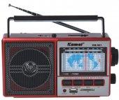 şarjlı Mp3 Çalar Radyo Usb Sd Kart Müzik