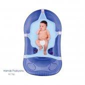 Sevi Bebe Çok Fonksiyonlu Bebek Yıkama Filesi Mavi 8697