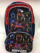 Power Rangers Okul Ve Beslenme Çantası
