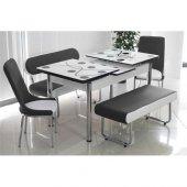 Banklı Masa Takımı Yemek Masası Masa Sandalye Bank Takımı Açılır