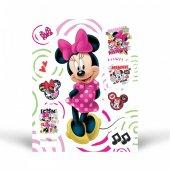 Fosforlu Duvar Sticker Minnie 19 Cm