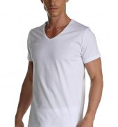 çift Kaplan Erkek Süprem V Yaka T Shirt 952