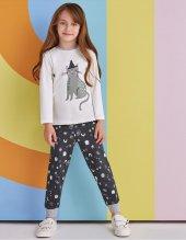 Rp 1358 Kız Çocuk Pijama Takımı Krem 1 4 Yaş