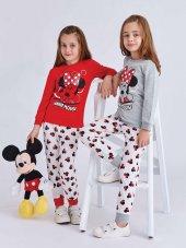 Rp 4009 Mınnıe Mouse Kız Çocuk Pijama Takımı 5 8