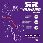 Ezydog 825 Lrr25blk Leashes Road Runner Zero Shock Köpek Gezdirme