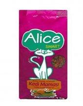 Alice Smart Balıklı, Tavuklu Ve Sebzeli Yetişkin Kedi Maması 1 Kg