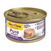 Gimdog Pure Delight Ton Balıklı Tavuklu Köpek Konservesi 85gr