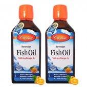 Carlson Fish Oil Balık Yağı Şurup 200 Ml Portakal Aromalı 2 Ad S