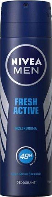 Nivea Deo Sprey Erkek Deodorant İnvisible Fresh 150ml