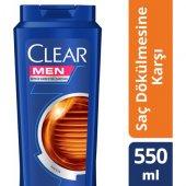 Clear Men Saç Dökülmesine Karşı Şampuan 550ml