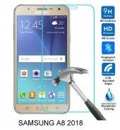 Samsung A8 2018 Kırılmaz Temperli Cam Ekran Koruyucu