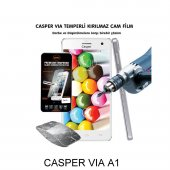 Casper Vıa A1 Kırılmaz Temperli Cam Ekran Koruyucu