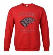 Stark Sweatshirt Kırmızı