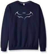 Lacivert Batman Yarasa Sweatshirt