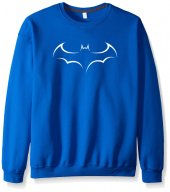 Mavi Batman Yarasa Sweatshirt