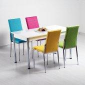 Evform Mutfak Masa Takımı Mutfak Masası Masa Sandalye