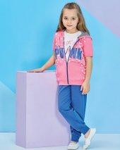 Rolypoly 1279 Kız Çocuk Yelekli Pijama 3 5 Yaş