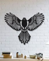 Dekoratif Ahşap Tablo Anka Kuşu