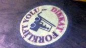Guvenlik Işığı 40w Spot Donen Logo Lazer Yansıtıcı