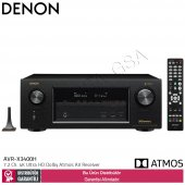 Denon Avr X3400h 7,2 Kanal Dolby Atmos Bluetoothlu Av Receiver