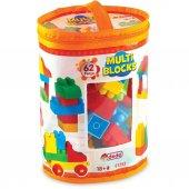 Dede Oyuncak Multi Blocks 62 Parça Eğitici Lego Oyun Seti