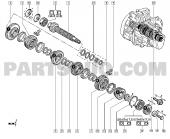 Renault R9 5 Vites Dişlisi Em R9 7700727849