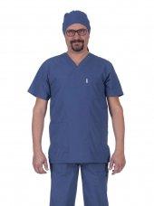 Laborteks Doktor Hemşire Üniforması Nöbet Takımı Erkek L 118