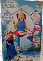Disney Karlar Ülkesi Frozen Aktivite Masası Boya Kalemleriyle