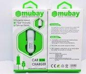 Mumax Samsung Uyumlu Araç Oto Şarj Aleti + Data Kablo