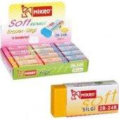 Mikro Soft Renkli Silgi