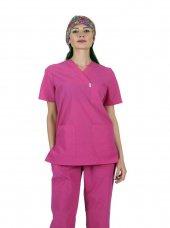 Laborteks Doktor Hemşire Üniforması Nöbet Takımı Bayan L 117