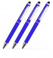 Kişiye Özel Mavi Metal Tükenmez Kalem (100 Adet) Model 506