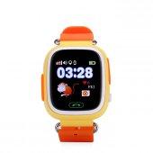 Tsmart Akıllı Çocuk Takip Saati Telefonu Gps Konum Ve Telefon Özellikli Turuncu Renk