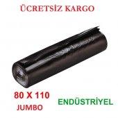 Endüstriyel Çöp Torbası Jumbo Boy 80x110 20 Adet