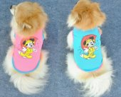 Kedi Köpek Elbisesi File Yazlık Mickey Atlet Giysi Hb1064