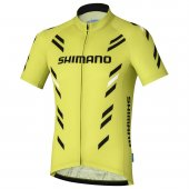 Shimano Jersey Ss Print Lime Yellow M