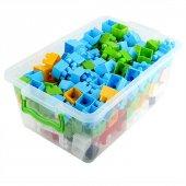 Midi Blok 50 Parça Lego Seti Çantalı Saklama Kaplı Yap Boz