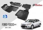 Ford Focus Mk3 2010.2015 Havuzlu Paspas