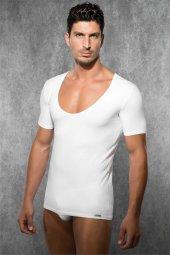 Doreanse Erkek Geniş U Yaka T Shirt 2520