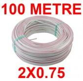 100 Metre 2x0.75 Kordon Kablo