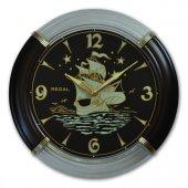 056 Vbg Fosforlu Yelkenli Duvar Saatı