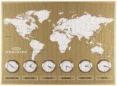 1397 Gs Sarı Büyük Dünya Saatı