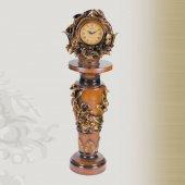 1635 Ap1 İşlemeli Sehpalı Büyük Boy Masa Saati